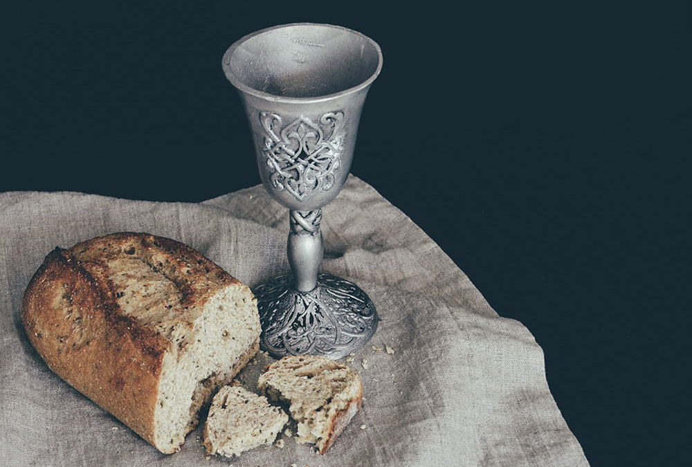 Can churches celebrate communion while worshiping virtually?