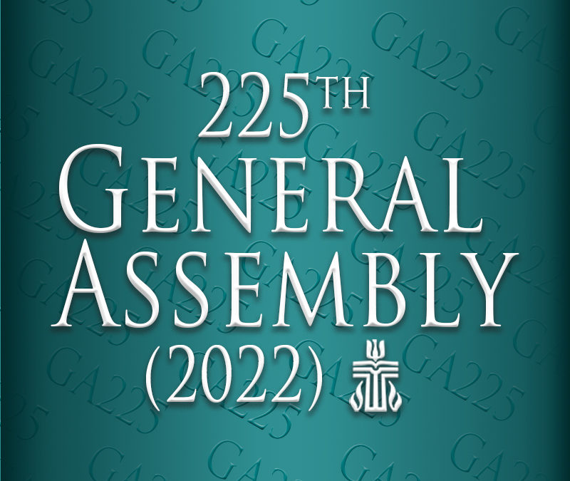 SEEKING: Applications for commissioners to 225th annual General Assembly