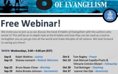 LEARN: Online resources, free webinars explore 8 Habits of Evangelism